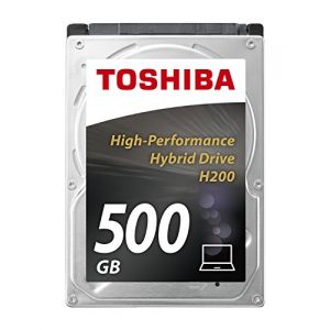 "Toshiba HDWM105UZSVA - Disque SSHD H200 500 Go 2.5"" SATA lll 5400rpm"