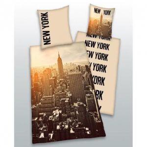 New York City - Housse de couette et taie (140 x 200 cm)