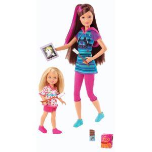 Mattel Barbie et ses soeurs - Skipper et Chelsea