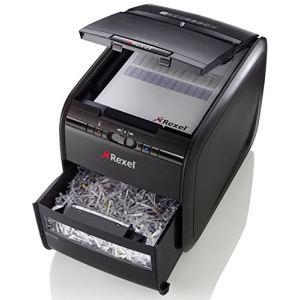 Rexel 2103060EU - Destructeur de documents coupe croisée Auto+ 60X
