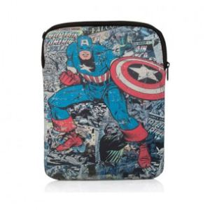 PDP IP-1520 - Housse Marvel Captain America pour tablette 10""