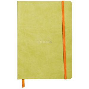 Rhodia 117406C Rhodiarama anis - Carnet souple format 14,8 x 21, 160 pages ligné