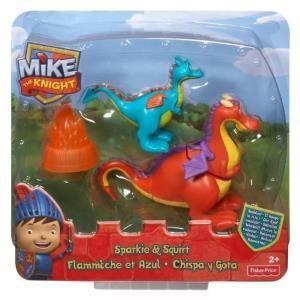 Mattel Figurines Azul et Flammèche