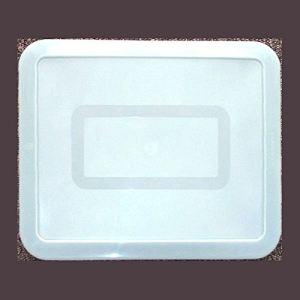 Pyrex Couvercle de plat rectangulaire en plastique (23 x 28 cm)