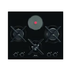 Sauter SPG4465M - Table de cuisson mixte (gaz et électrique) 4 foyers