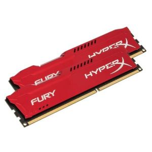 Kingston HX316C10FK2/16 - Barrettes mémoire HyperX Fury 2 x 8 Go DDR3 1600 MHz CL10 DIMM 240 broches