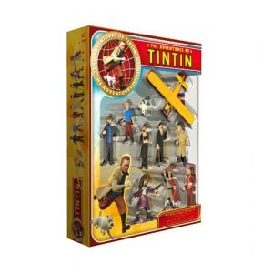 Plastoy Coffret collector : 9 figurines et Hydravion Tintin