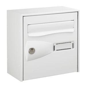 boite aux lettres decayeux blanc comparer 49 offres. Black Bedroom Furniture Sets. Home Design Ideas