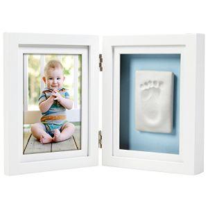 Pearhead 21413 - Cadre de bureau Babyprints Deluxe