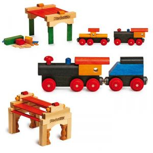 Legler Ensemble de train en bois Henry