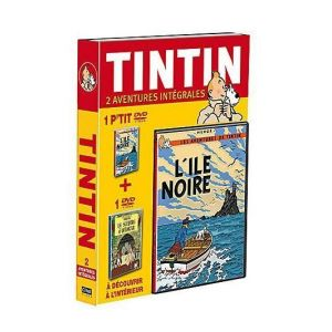 Coffret Tintin : Le Sceptre d'Ottokar + L'Ile Noire