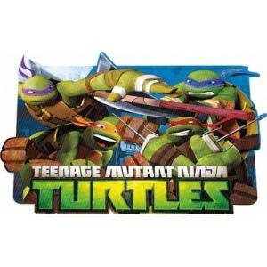 Set de table Tortues Ninja 3D (29 x 43 cm)
