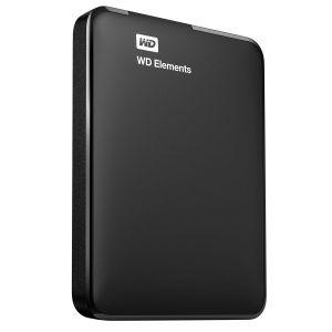 "Western Digital WDBUZG0010BBK - Disque dur externe WD Elements 1 To 2.5"" USB 3.0"