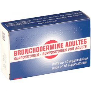 Serp Bronchodermine Adultes - 10 Suppositoires