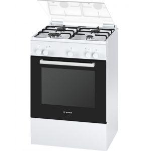Bosch HGA223121F - Cuisinière mixte 4 foyers gaz avec four électrique