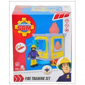 Simba Toys Sam le pompier petite tour d'entraînement avec figurine