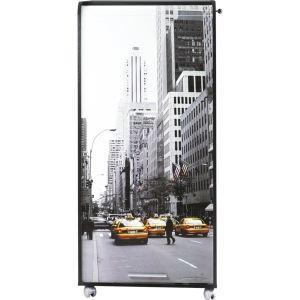 Armoire informatique à rideau coulissant Taxi Jaune New York (39, 6 cm)