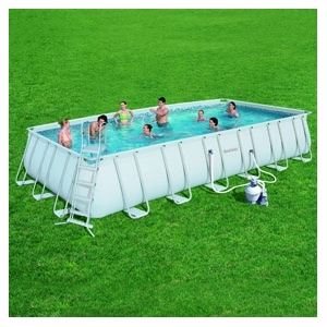 Bestway 56279 - Piscine tubulaire rectangulaire 732 x 366 x 132 cm