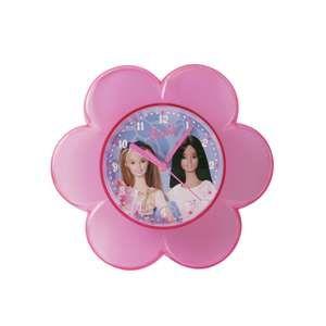 Pendule fleur Barbie pour fille