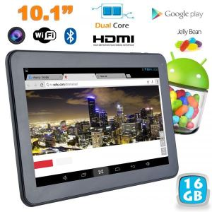 "Yonis Y-tt33g16 - Tablette tactile 10.1"" sous Android 4.2 (8 Go interne + Micro SD 8 Go)"