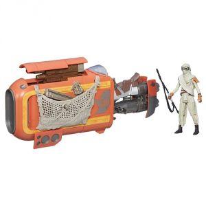 Hasbro Véhicule Star Wars Speeder de Rey (Jakku)