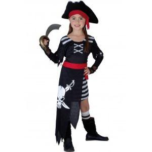Déguisement de pirate pour fille (7 à 14 ans)