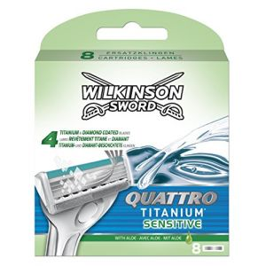 Wilkinson 8 Lames Quattro Titanium Sensitive