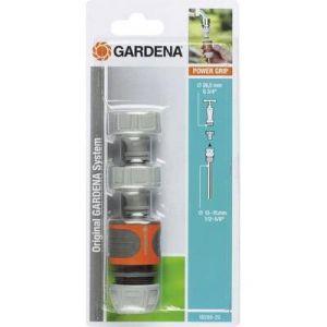 Gardena 18286-20 - Nécessaire de raccordement pour robinet 20/27 et tuyau Ø 13-15 mm