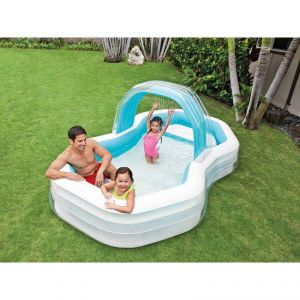Intex Piscine gonflable Octo avec ombrelle amovible