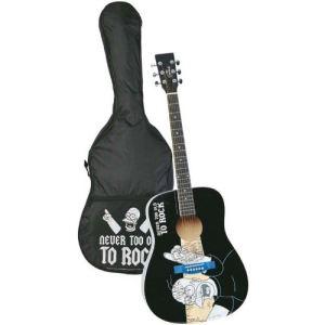 Mt cr ations guitare acoustique les simpsons comparer les prix avec - Guitare simpson ...