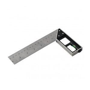 Silverline 282651 - Equerre de menuisier à niveau 15 cm