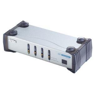 Aten VS461 - Commutateur audio-vidéo DVI 4 ports avec télécommande infrarouge
