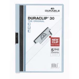 Durable Chemise à clip Durable en Pvc (21.7 x 31 cm)