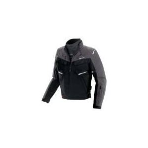 Spidi Adventurer (noir et gris) - Blouson de moto textile waterproof pour homme