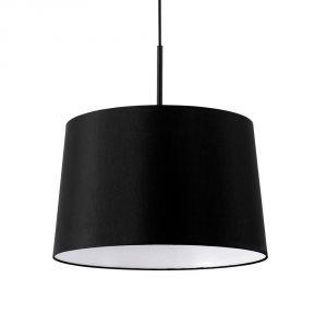 luminaire suspension tambour noir comparer 9 offres. Black Bedroom Furniture Sets. Home Design Ideas