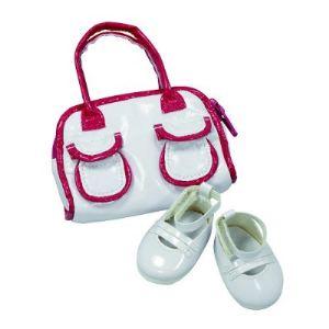 Gotz Chaussures blanches avec sac pour poupée