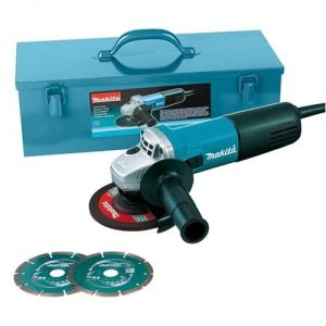Makita 9558HNGKD2 - Meuleuse d'angle 125mm 840W + 3 disques