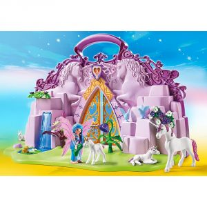 playmobil 6179 fairies licorne valise terre de fes