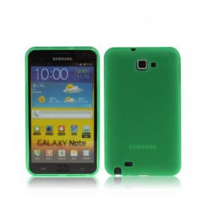 High-Tech Place CSSGNSMV01 - Coque en silicone pour Samsung Galaxy Note / i9220 / N7000