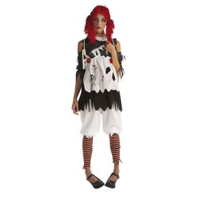 Rubie's Déguisement Poupée de chiffon femme Halloween (taille XS)