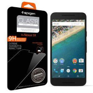 Spigen sgp SGP11815 - Film en verre trempé pour Nexus 5X