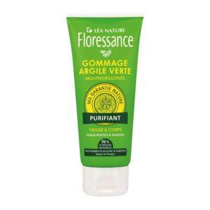 Floressance Argile Verte - Gommage purifiant visage & corps