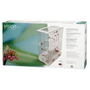Hagen Cage Vision 2 L12 pour oiseaux (74,9 x 92,7 x 38,1 cm)
