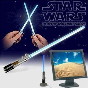 Lampe de bureau Star Wars sabre laser USB
