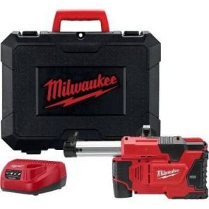 Milwaukee M12 DE-201C - Ki d'aspiration autonome 12 V pour les perforateur SDS