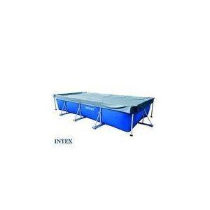 Intex 58968 - Bâche de protection Ø 4,59 x 2,26 m pour piscine tubulaire rectangulaire 4,50 m