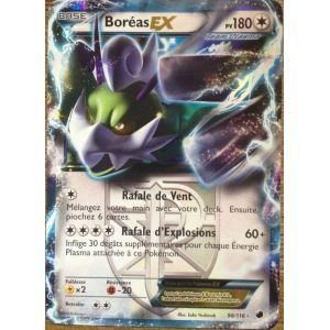 Asmodée Boréas Ex - Carte Pokémon 98/116 Glaciation Plasma