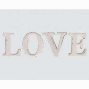 Lettres Love en métal