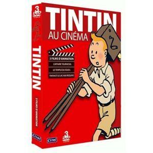 Coffret Tintin - L'affaire Tournesol + Le Temple du Soleil + Le lac aux requins