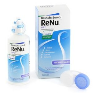 Bausch & Lomb ReNu MPS - Solution multifonctions pour lentilles